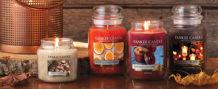 Yankee Candle Harvest Time